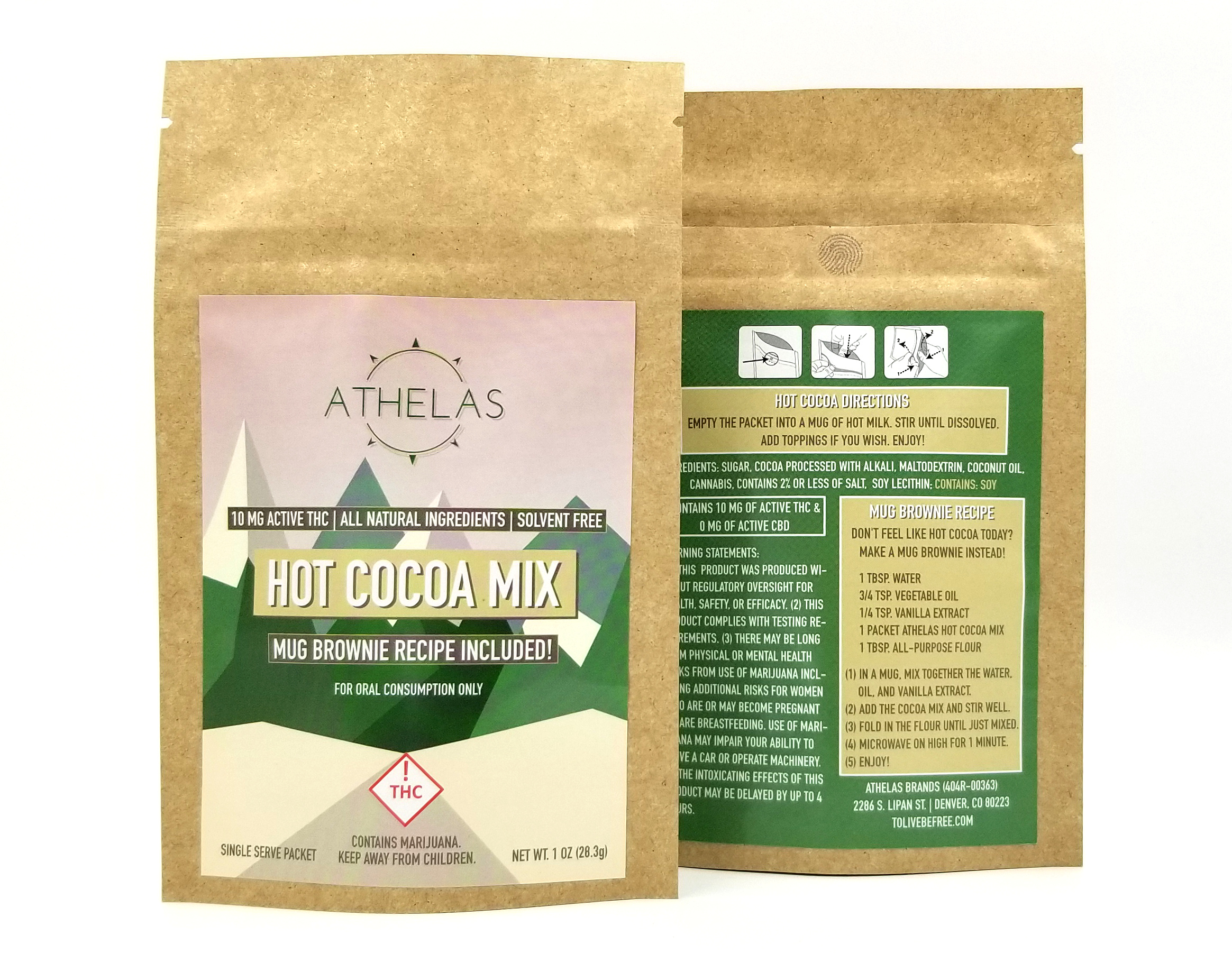 Original Hot Cocoa Mix - 10 mg