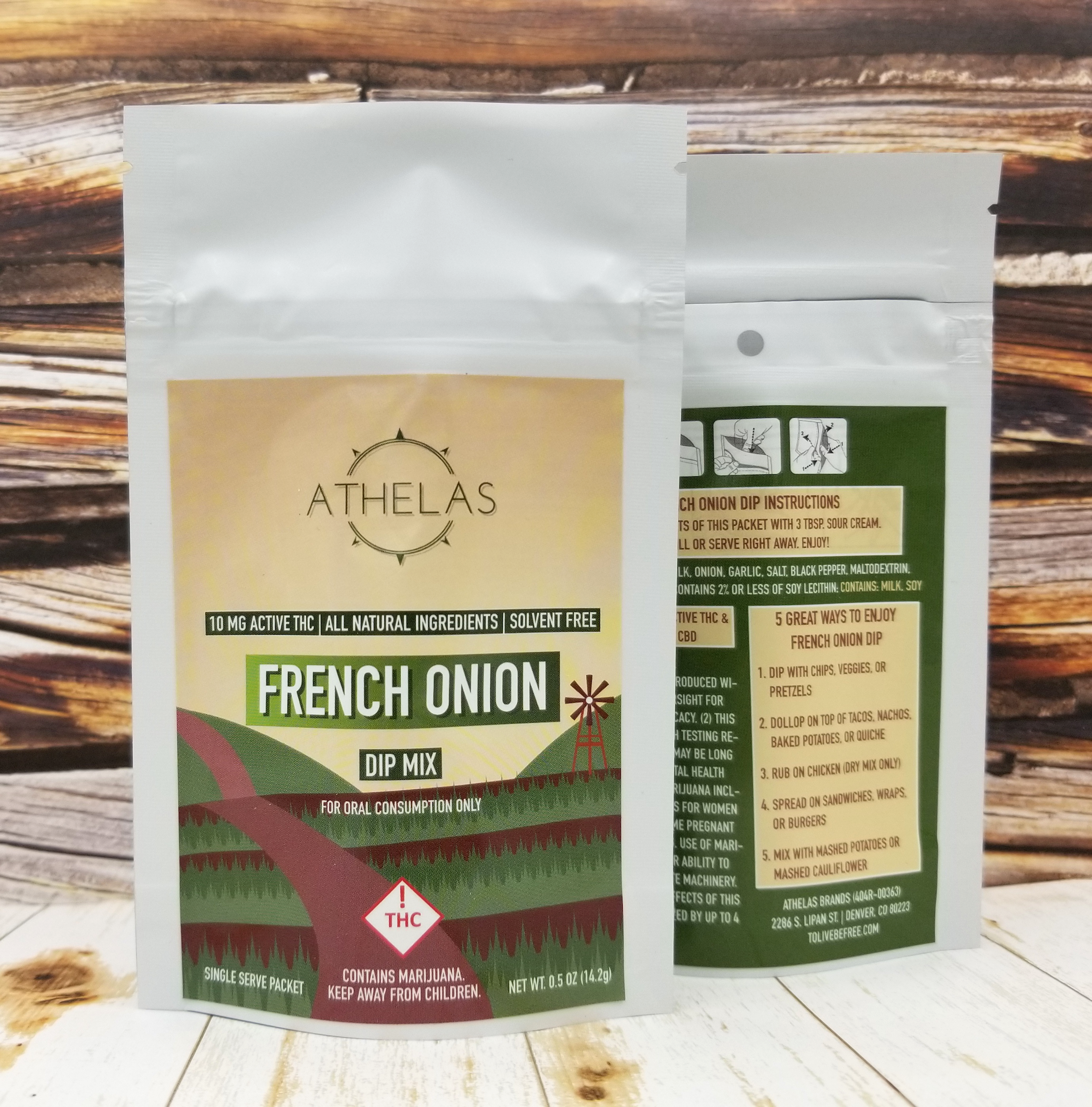 French Onion Dip MIx - 10 mg