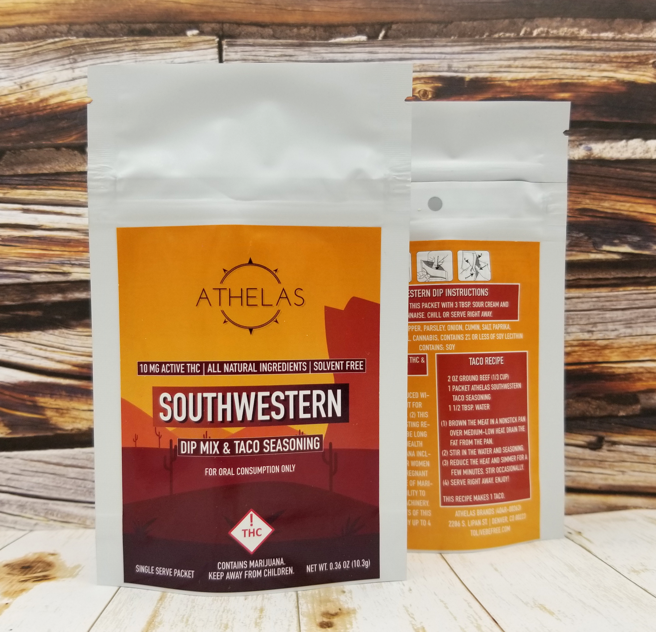 Southwestern Dip Mix - 10 mg